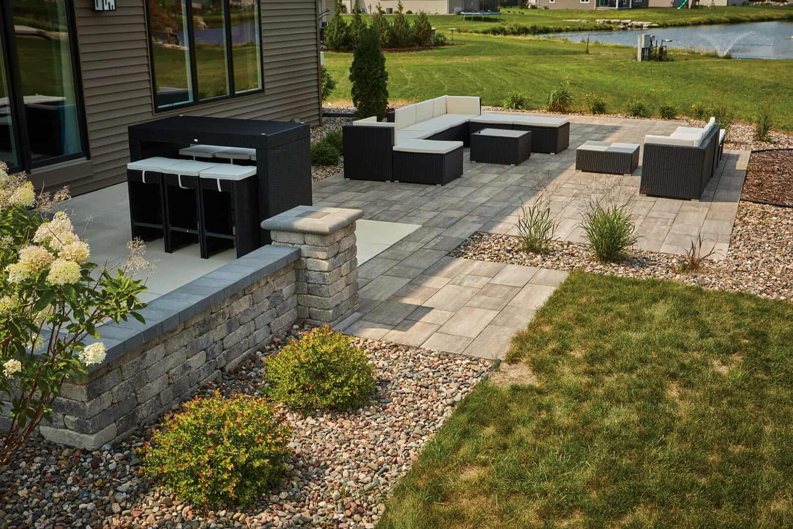 County Materials Bullnose Paver