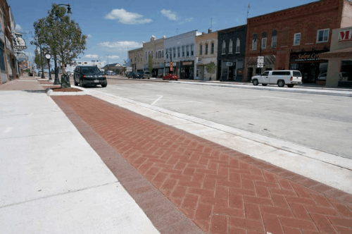County Materials Clay Pavers