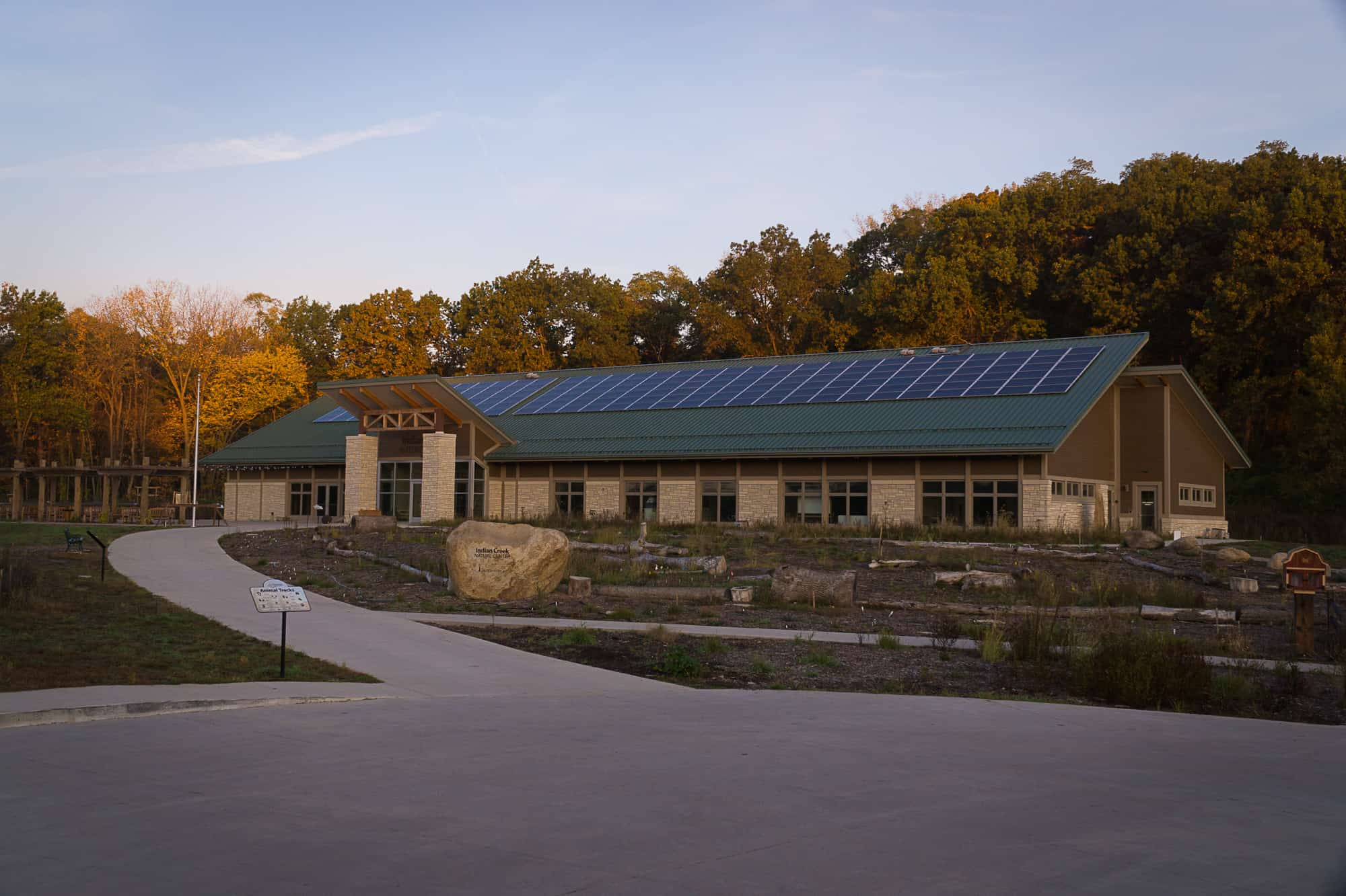 Indian Creek Nature Center Parking Lot Ready Mix Concrete